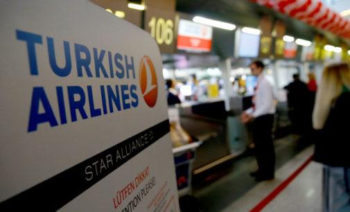 Turkish Airlines estende suspensão de vôos internacionais até 20 de maio