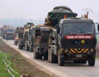 Turquia enviou recentemente cerca de 20.000 soldados para Idlib na Síria
