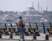 Onda de calor atinge Turquia com até 41 graus