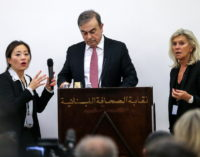 Turquia acusa pilotos e outros pela fuga de Carlos Ghosn