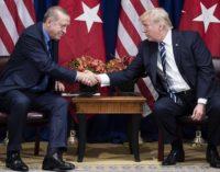 Erdoğan diz a Trump que milícia curda e Hizmet estão envolvidos em protestos nos EUA
