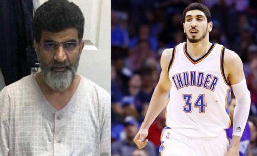 Enes Kanter, do Celtics, diz que pai foi libertado da prisão turca