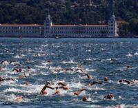Turquia sedia corrida de natação transcontinental única