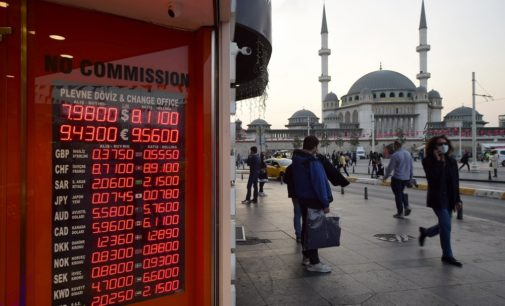 Lira turca cai para mínimo histórico devido ameaça de sanção dos EUA