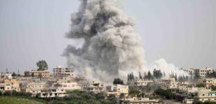 Exército sírio bombardeia bastião de rebeldes apoiados pela Turquia, matando 7
