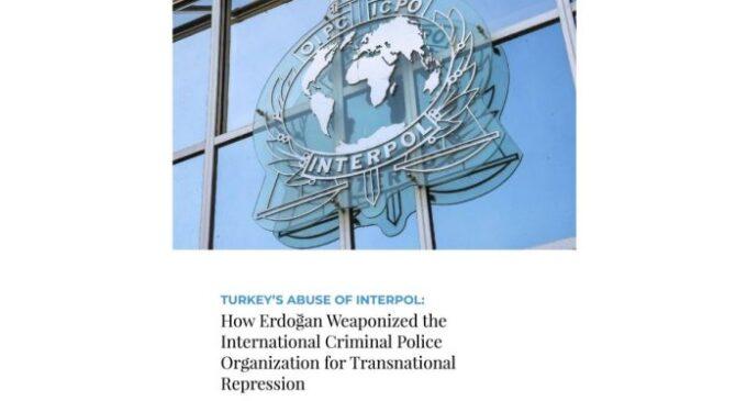 Abuso da INTERPOL pela Turquia de Erdogan