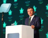 Erdoğan impediu o julgamento de ex-ministros por corrupção, diz o ex-PM