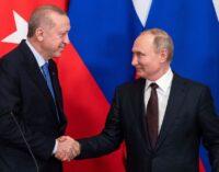 Parceiros ou rivais? Rússia e Turquia navegam em uma aliança incômoda