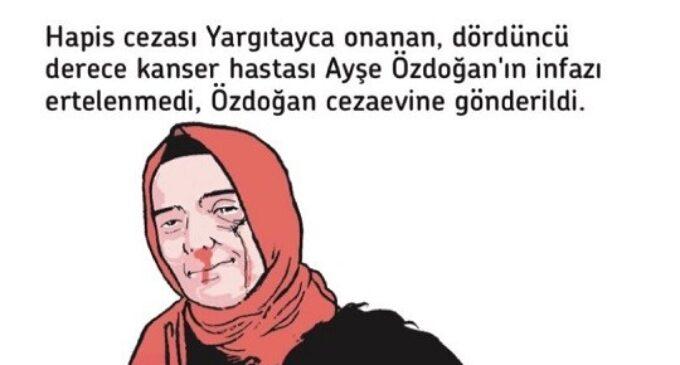 Reações crescem contra autoridades turcas devido prisão de paciente com câncer terminal